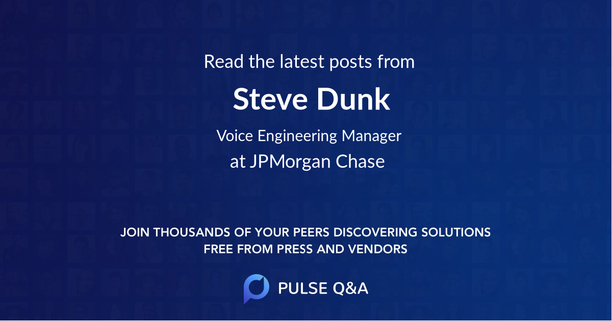 Steve Dunk