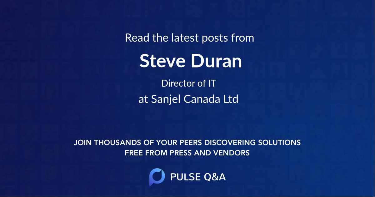 Steve Duran