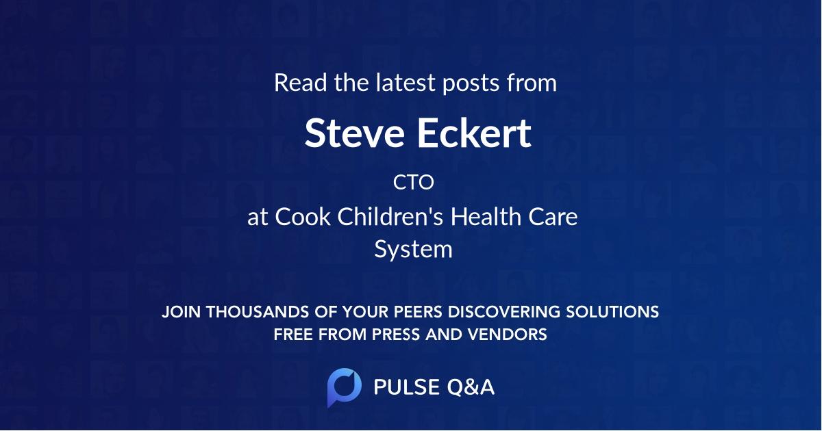 Steve Eckert