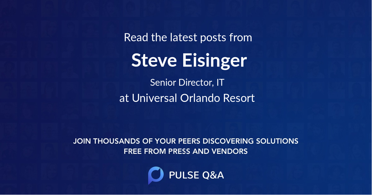 Steve Eisinger
