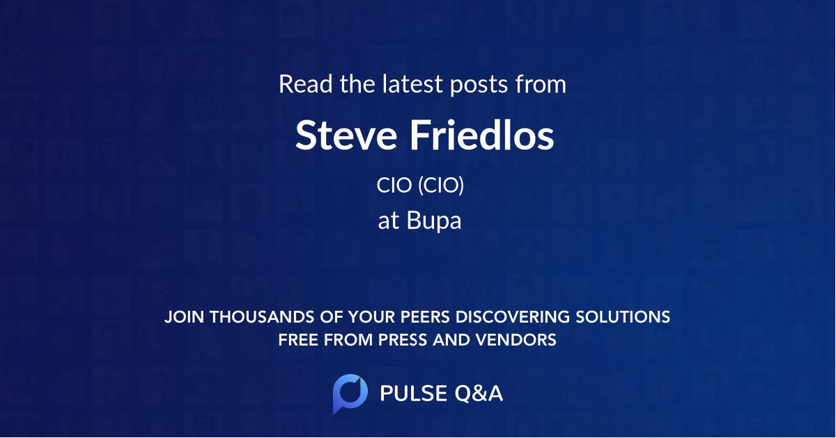 Steve Friedlos