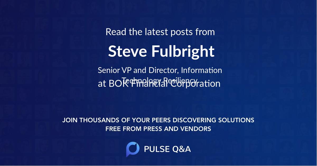 Steve Fulbright