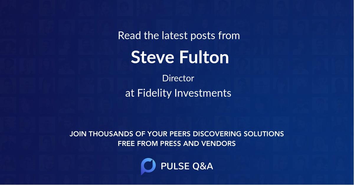 Steve Fulton