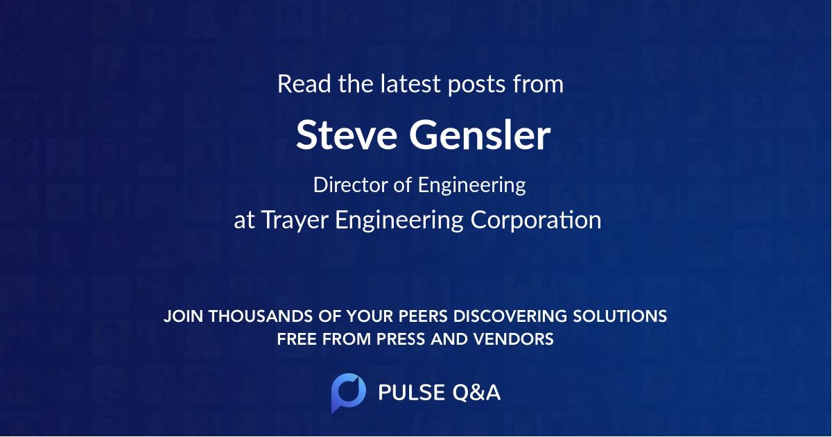 Steve Gensler