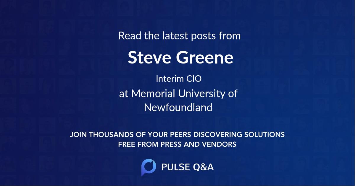 Steve Greene