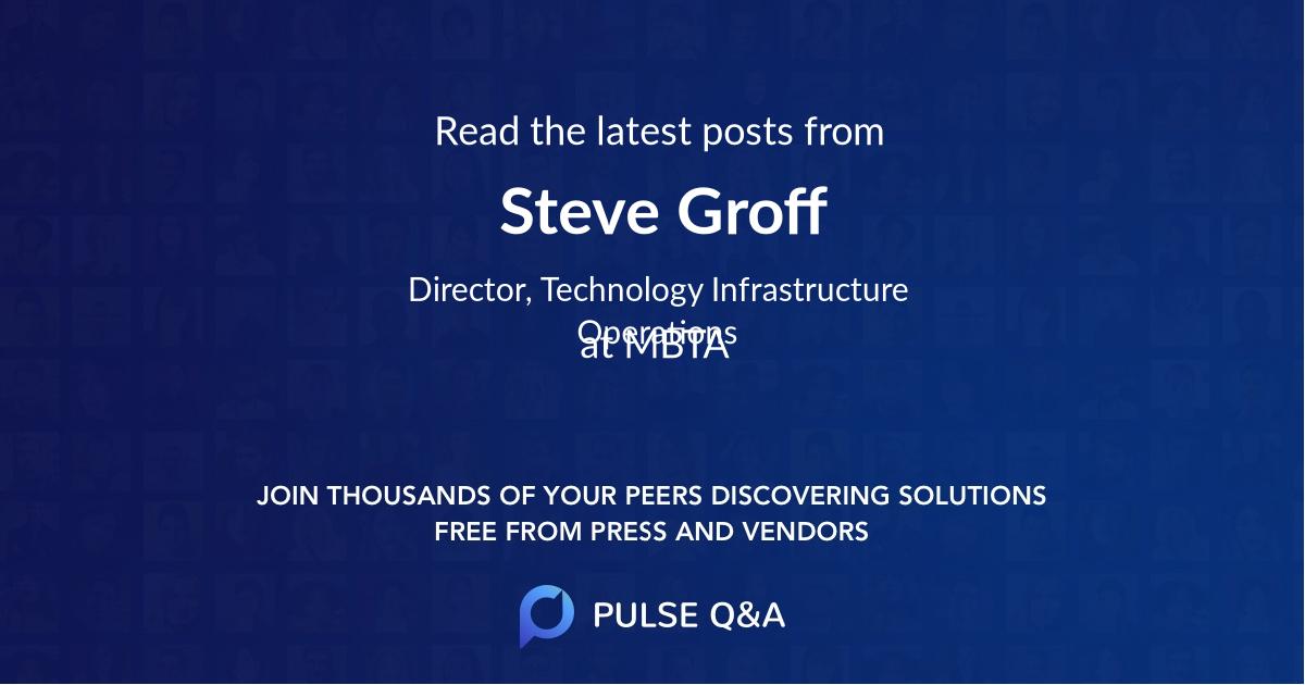 Steve Groff