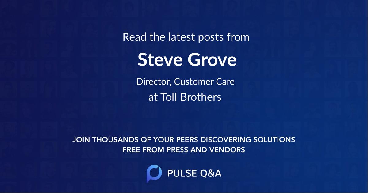 Steve Grove