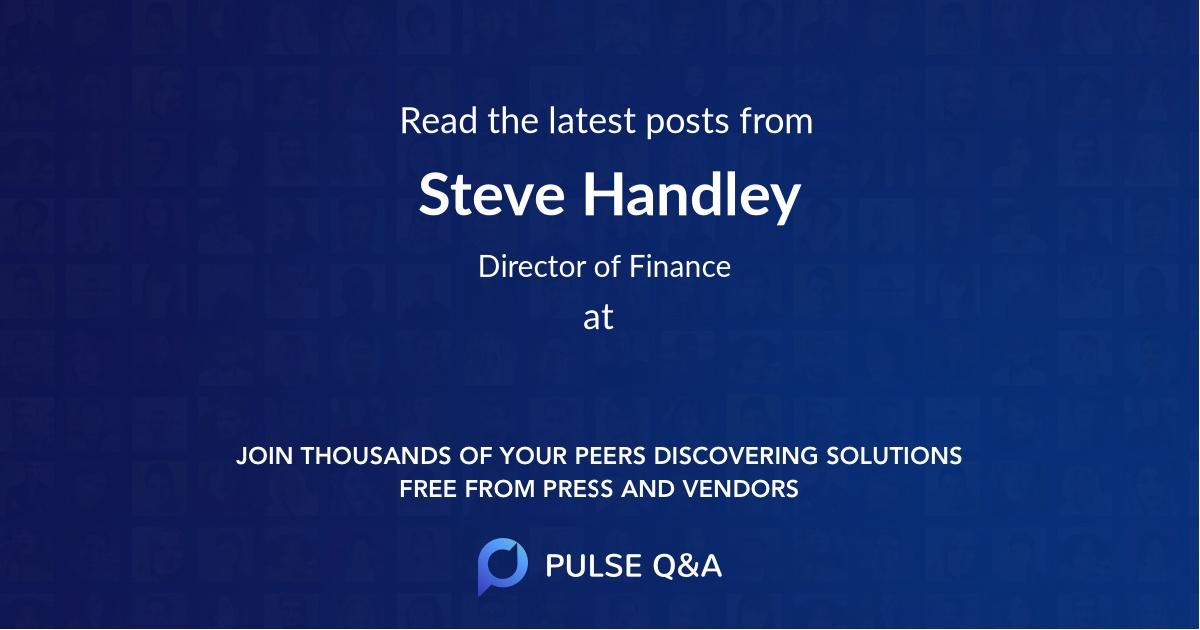 Steve Handley