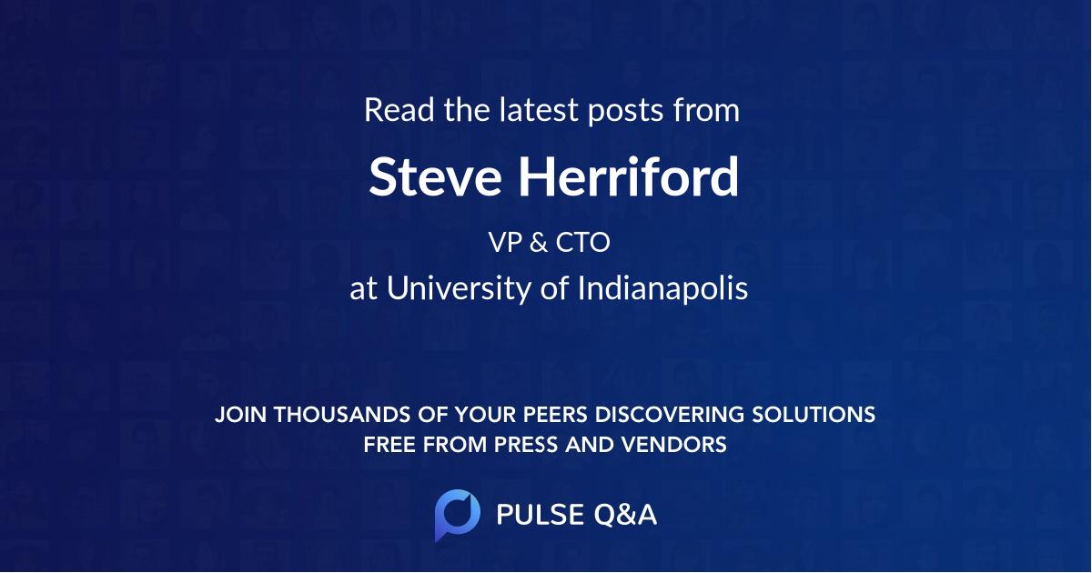 Steve Herriford