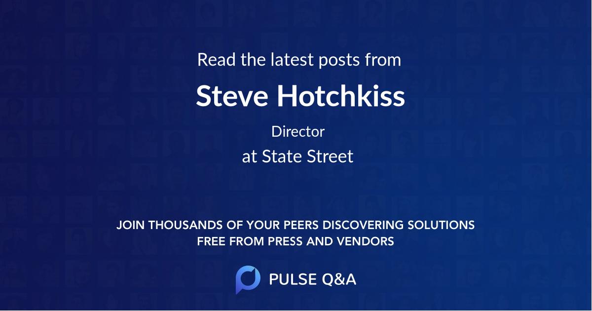 Steve Hotchkiss