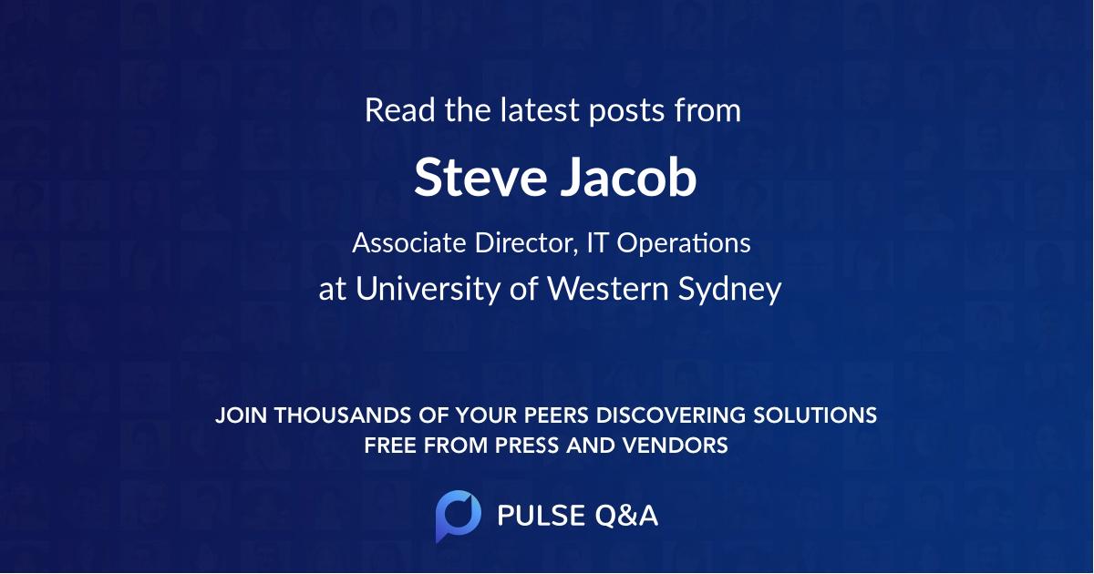 Steve Jacob