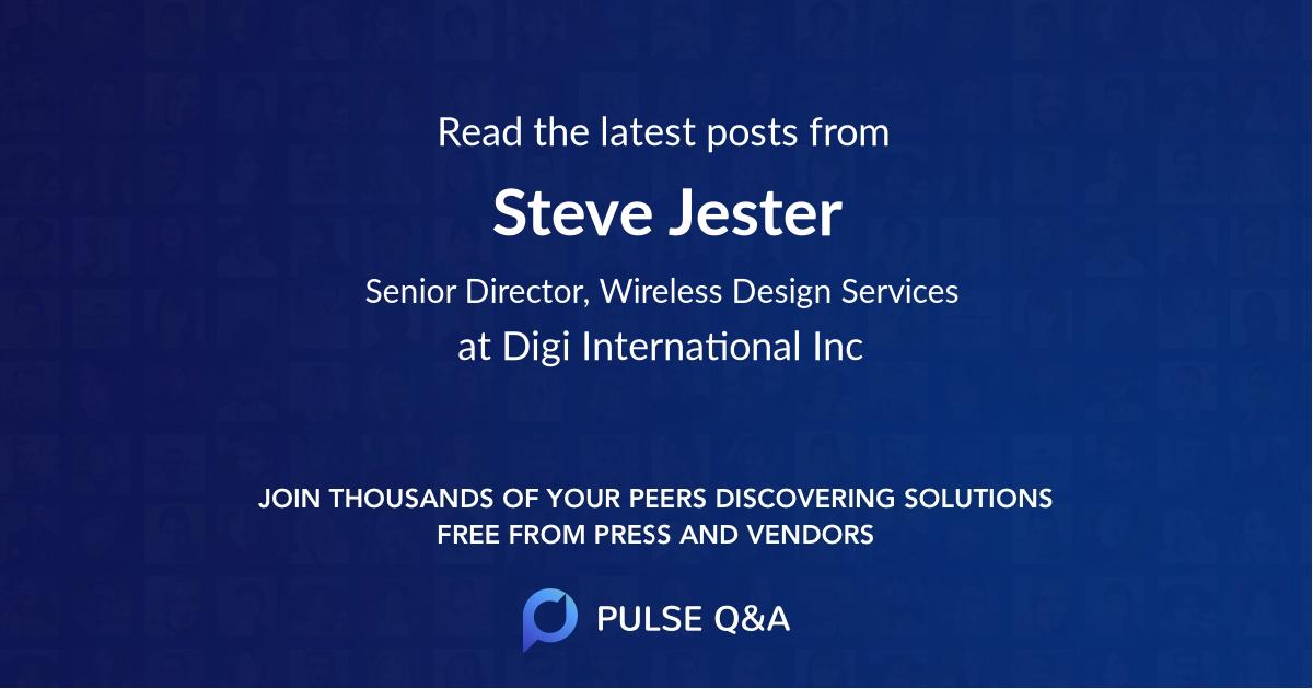 Steve Jester