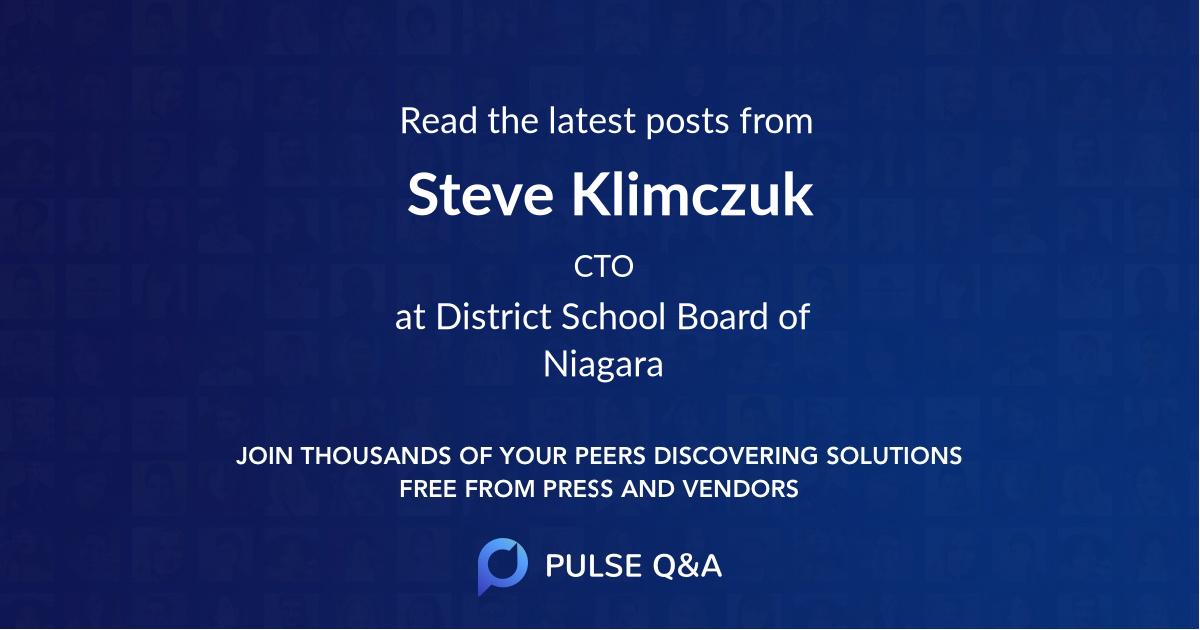 Steve Klimczuk