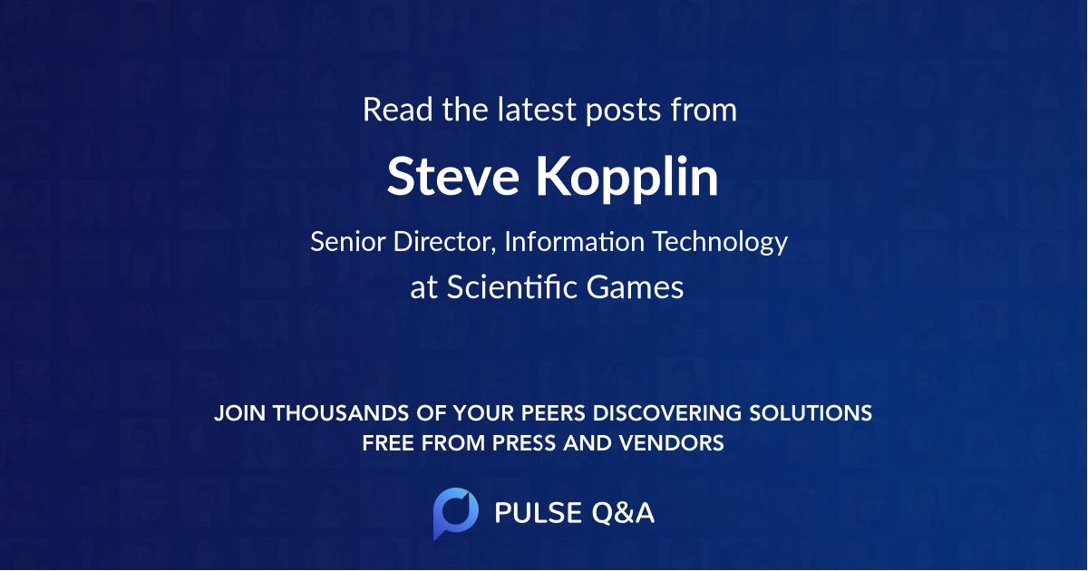 Steve Kopplin