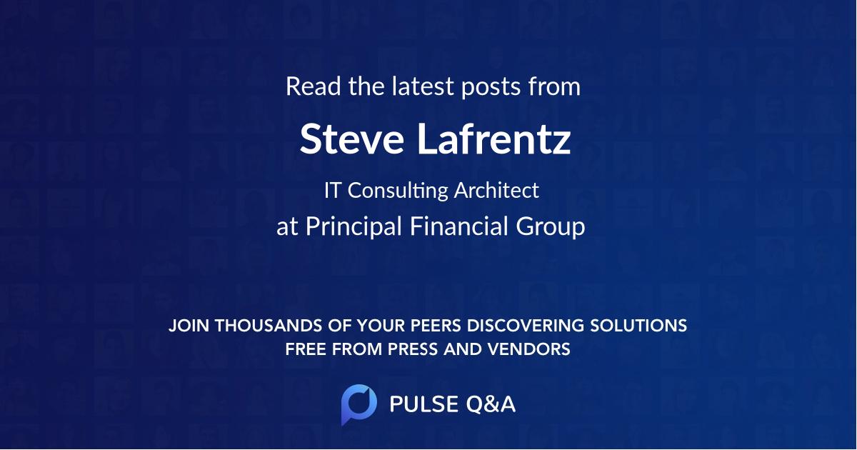 Steve Lafrentz