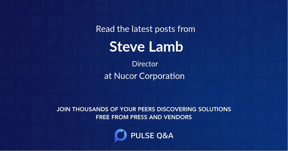 Steve Lamb