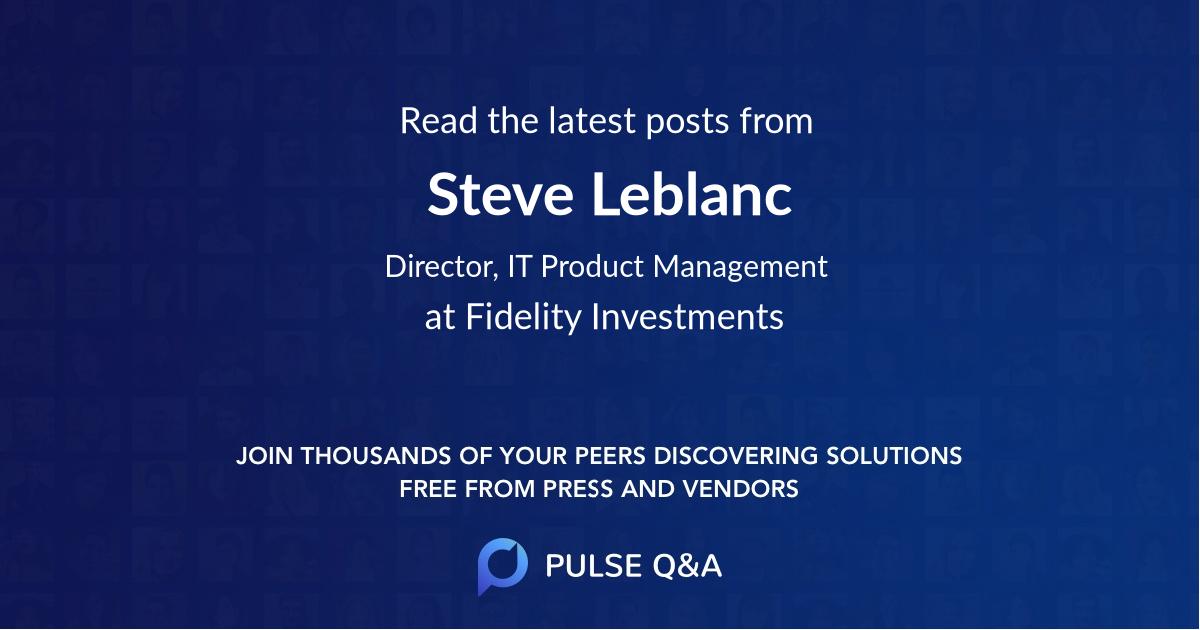 Steve Leblanc