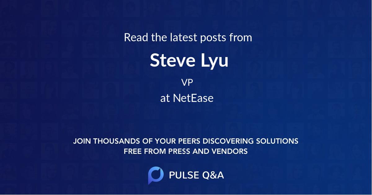 Steve Lyu
