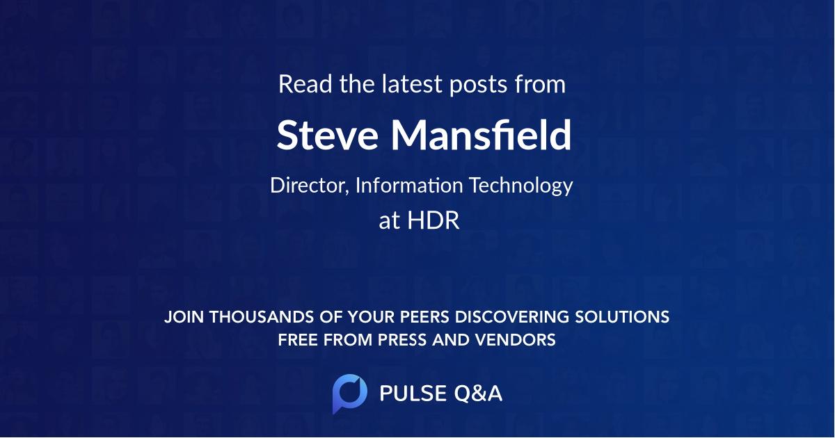 Steve Mansfield