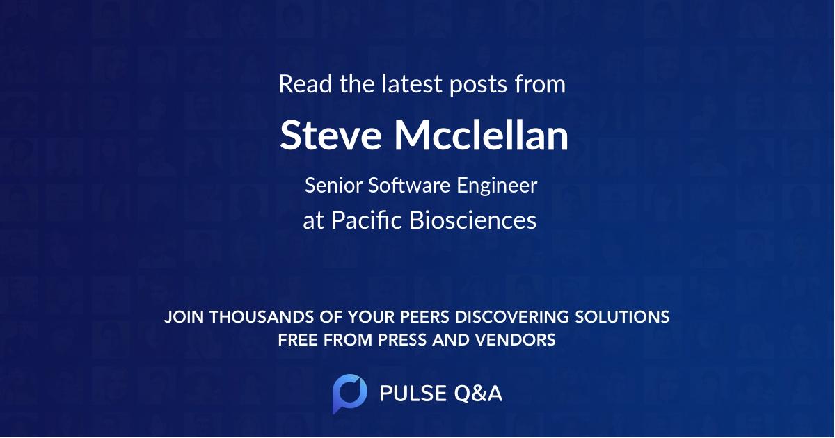 Steve Mcclellan