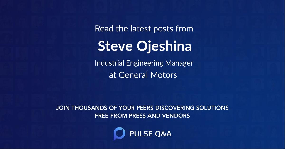 Steve Ojeshina