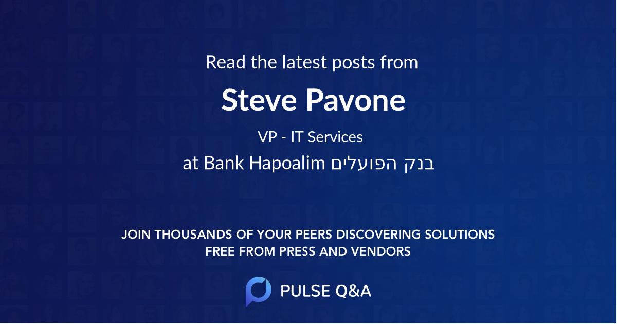 Steve Pavone
