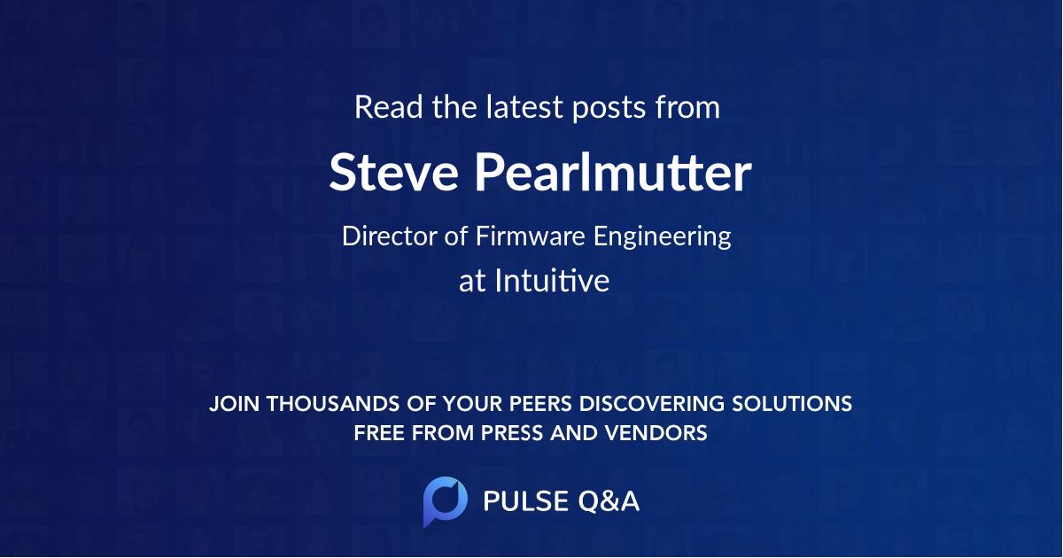 Steve Pearlmutter