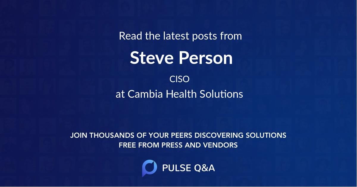 Steve Person