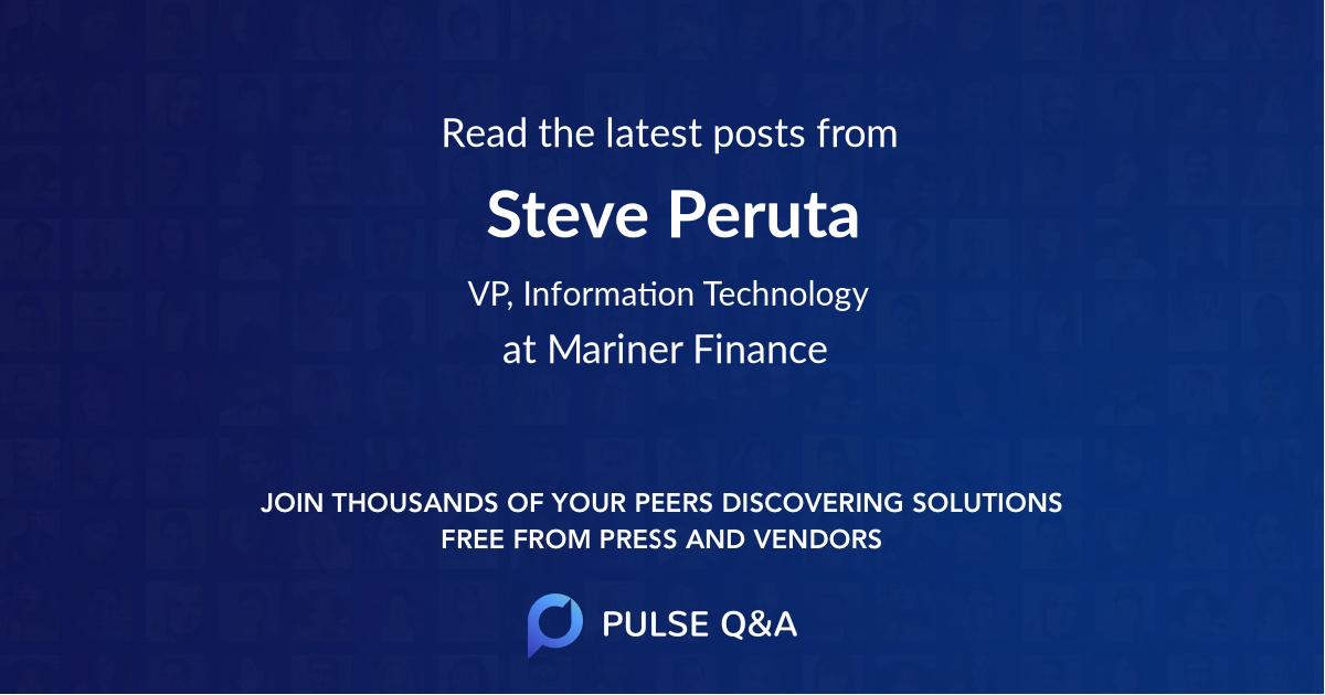 Steve Peruta