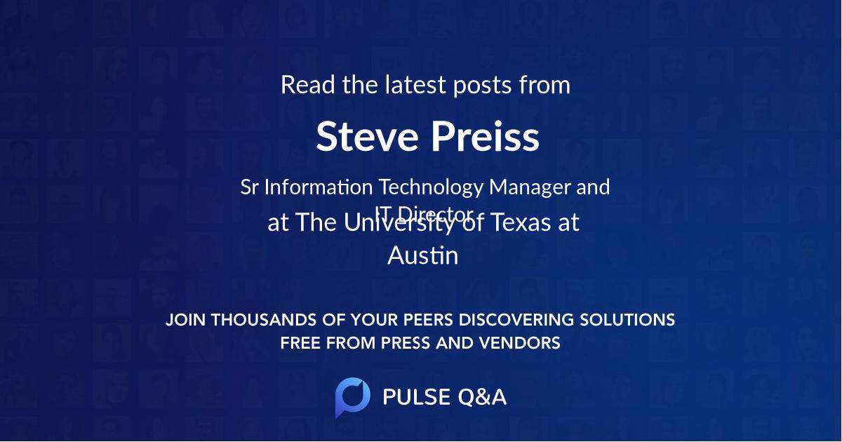Steve Preiss