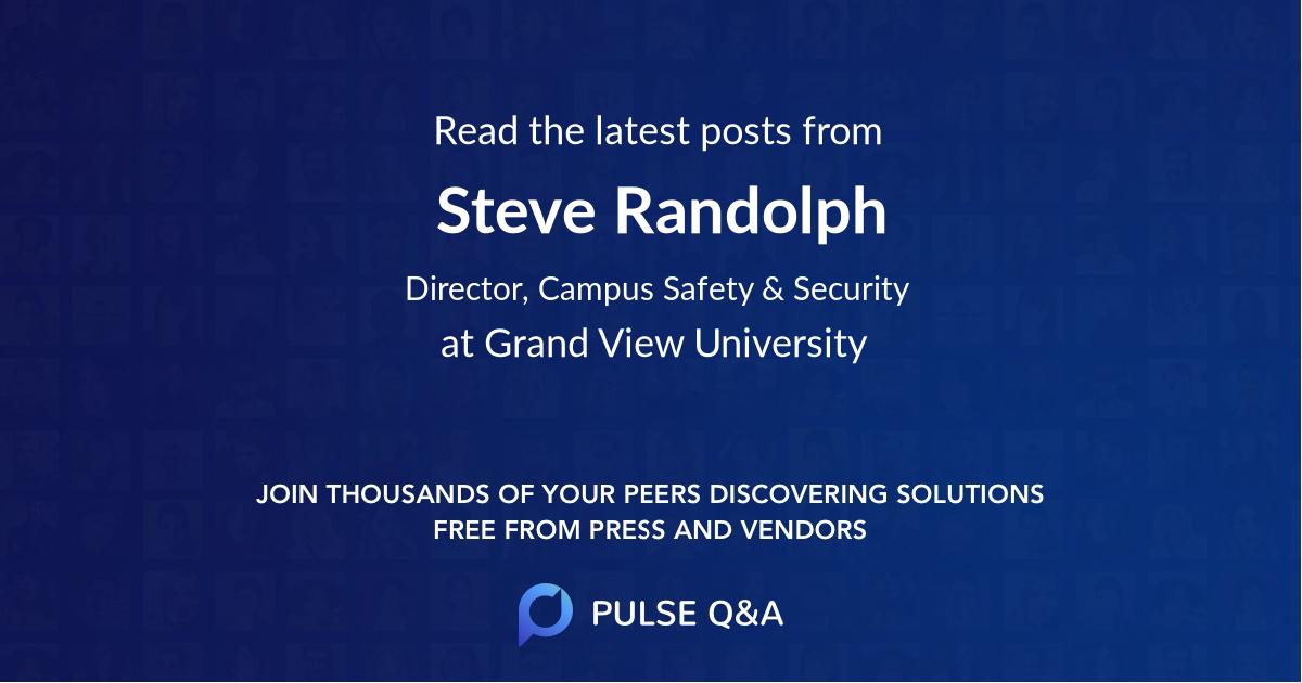 Steve Randolph