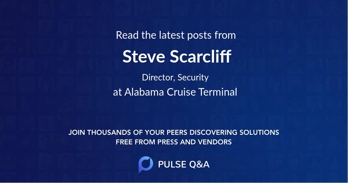 Steve Scarcliff