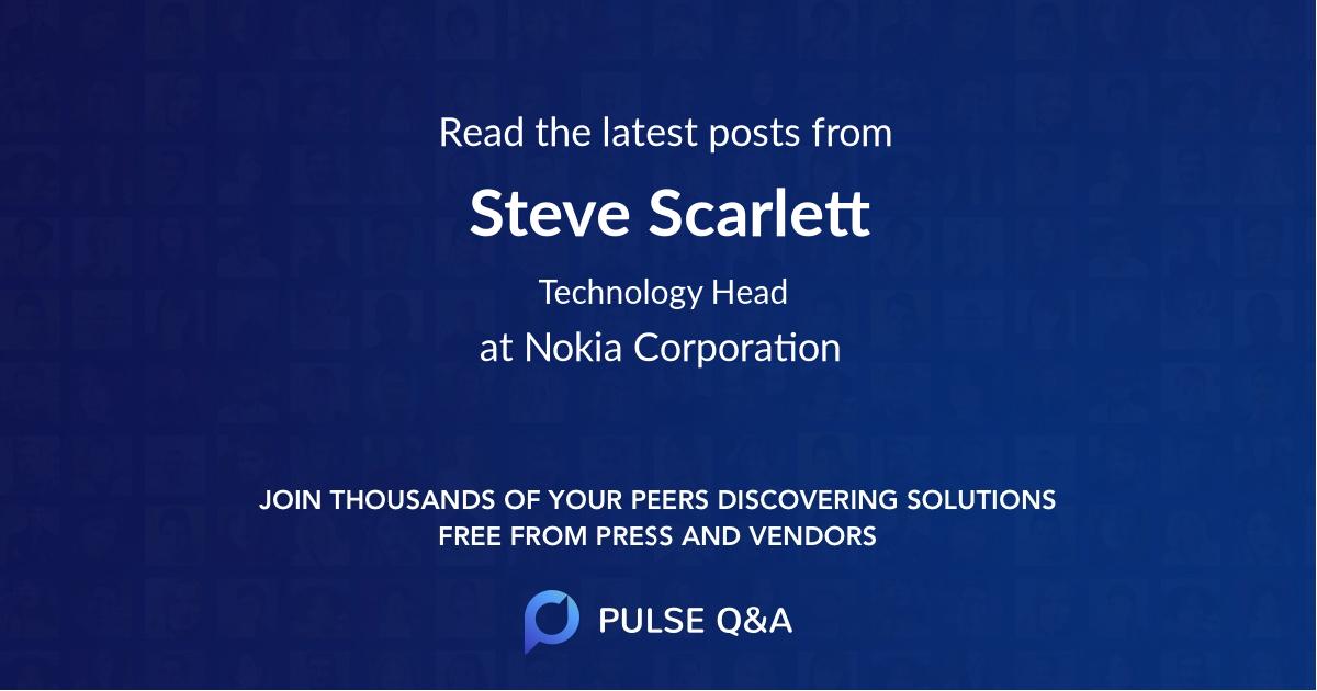 Steve Scarlett