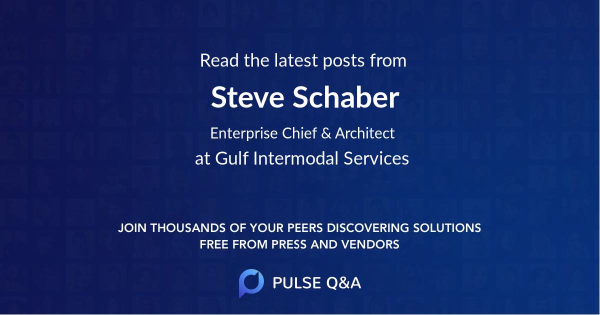 Steve Schaber