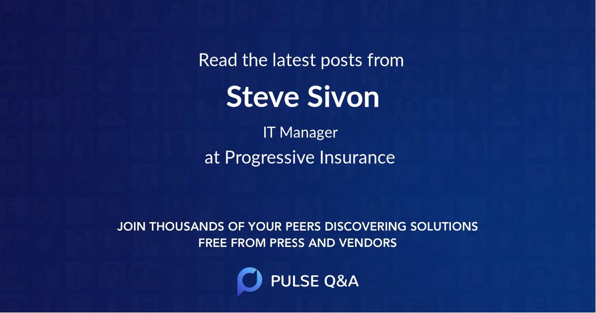 Steve Sivon