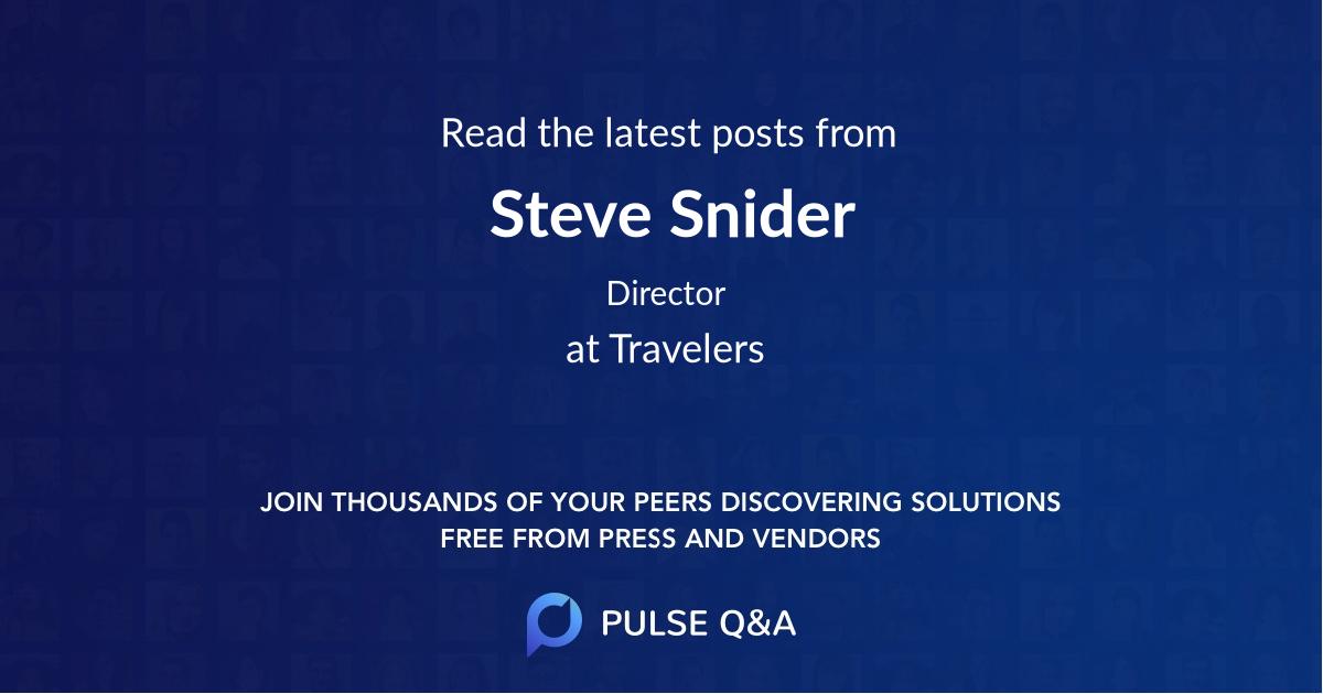 Steve Snider