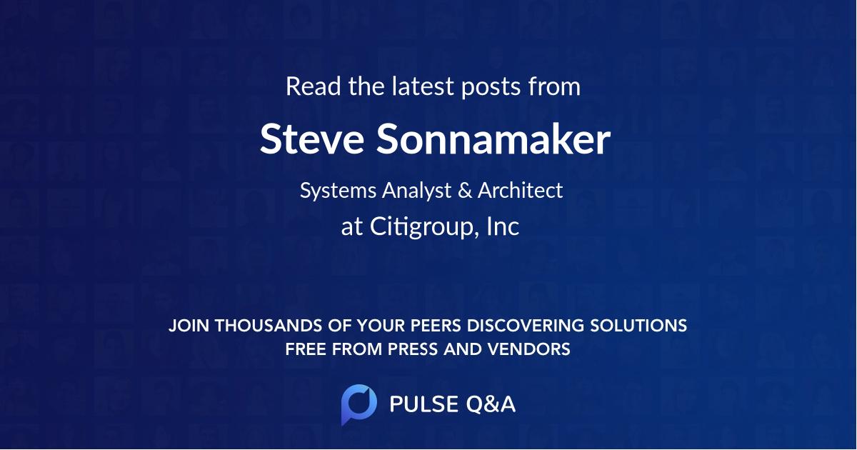 Steve Sonnamaker