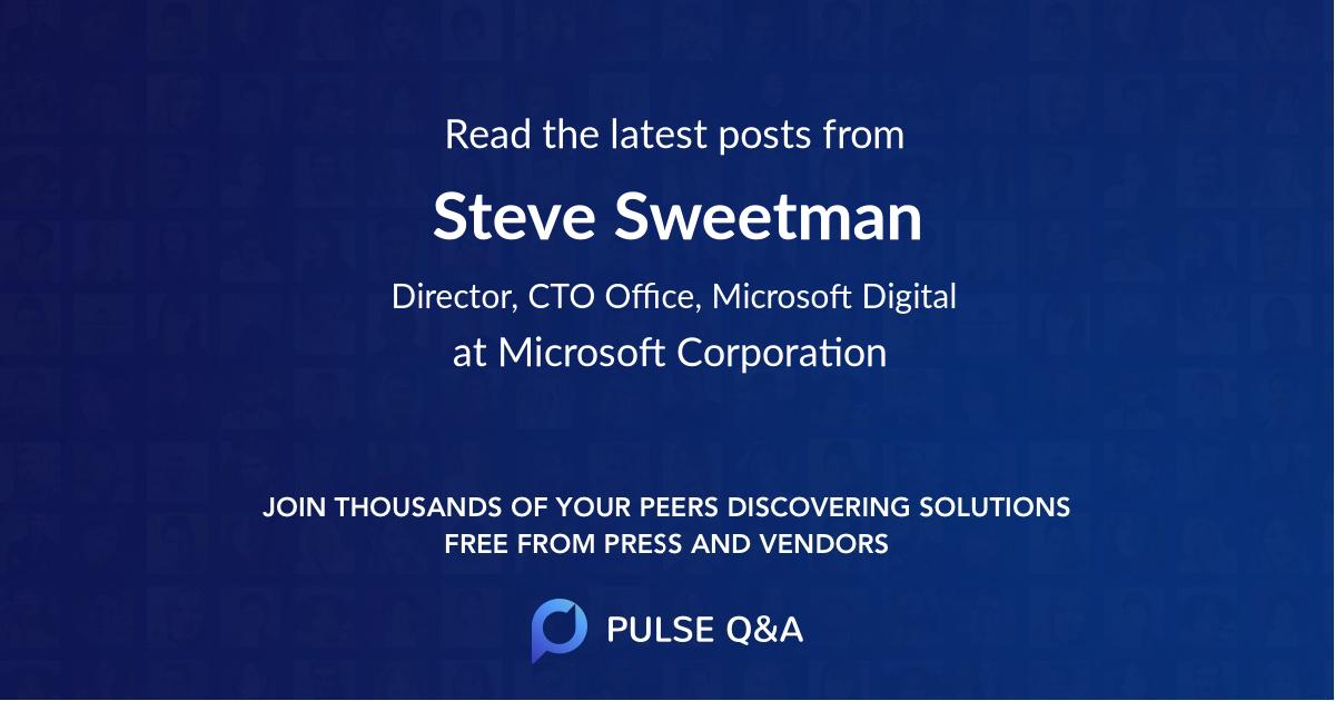 Steve Sweetman