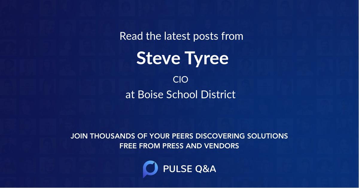 Steve Tyree