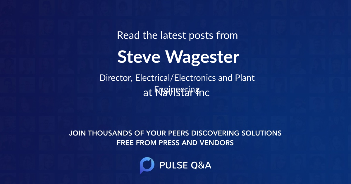 Steve Wagester