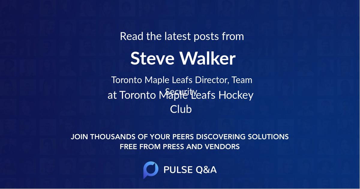 Steve Walker