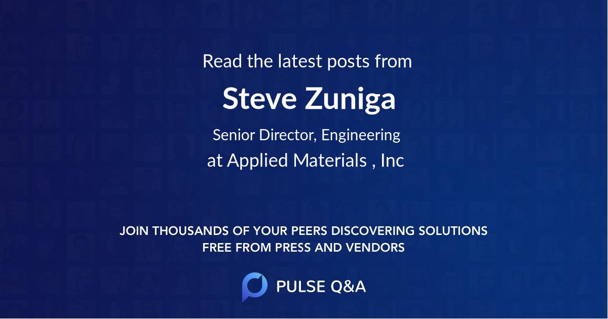 Steve Zuniga
