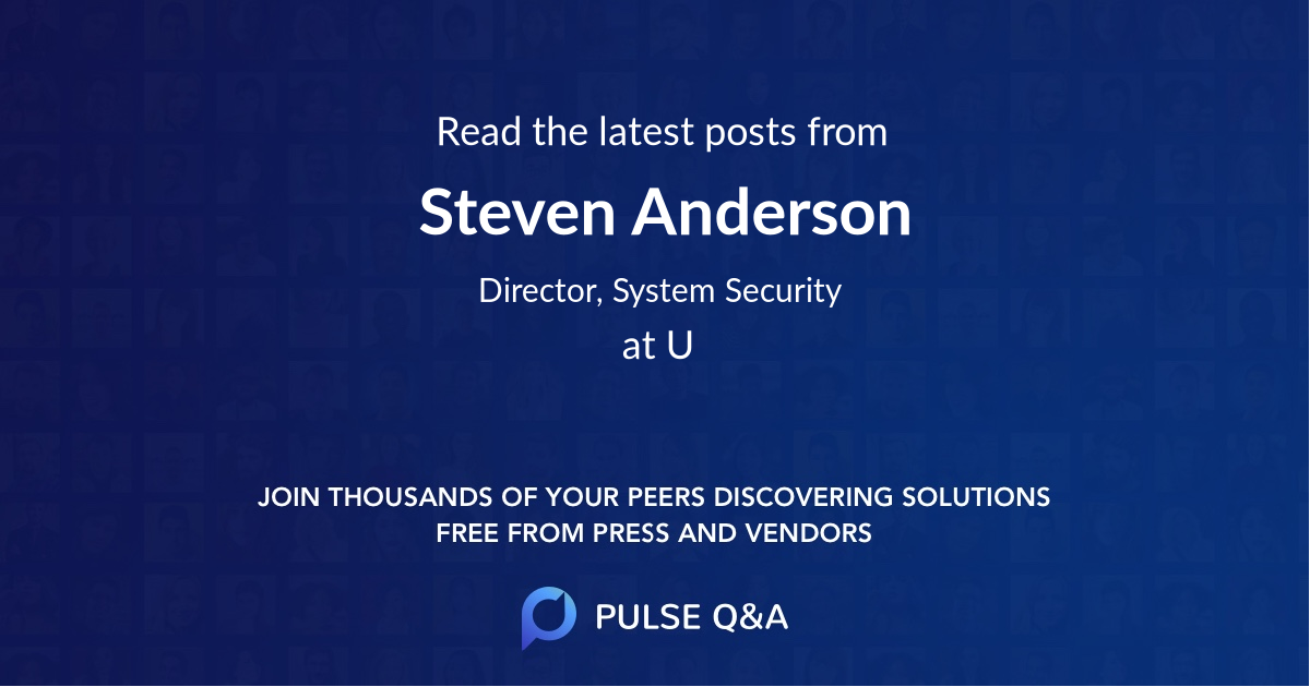 Steven Anderson