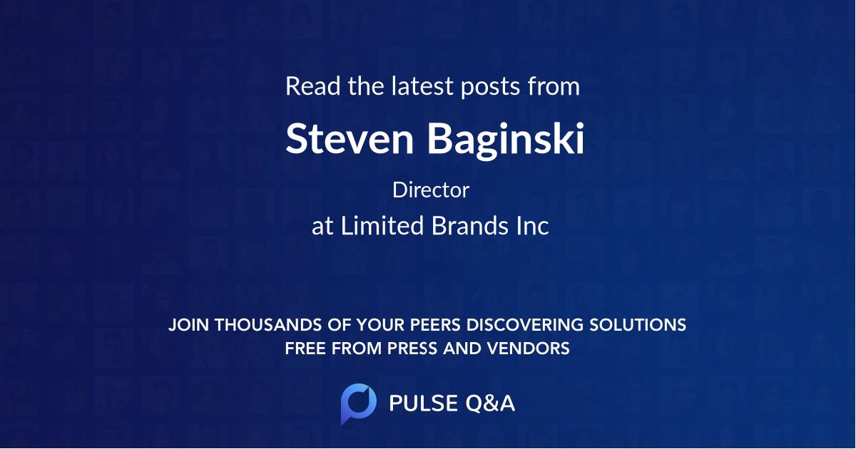 Steven Baginski