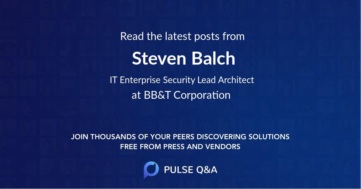 Steven Balch