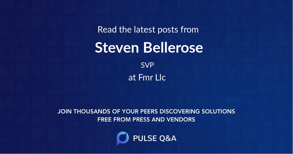 Steven Bellerose