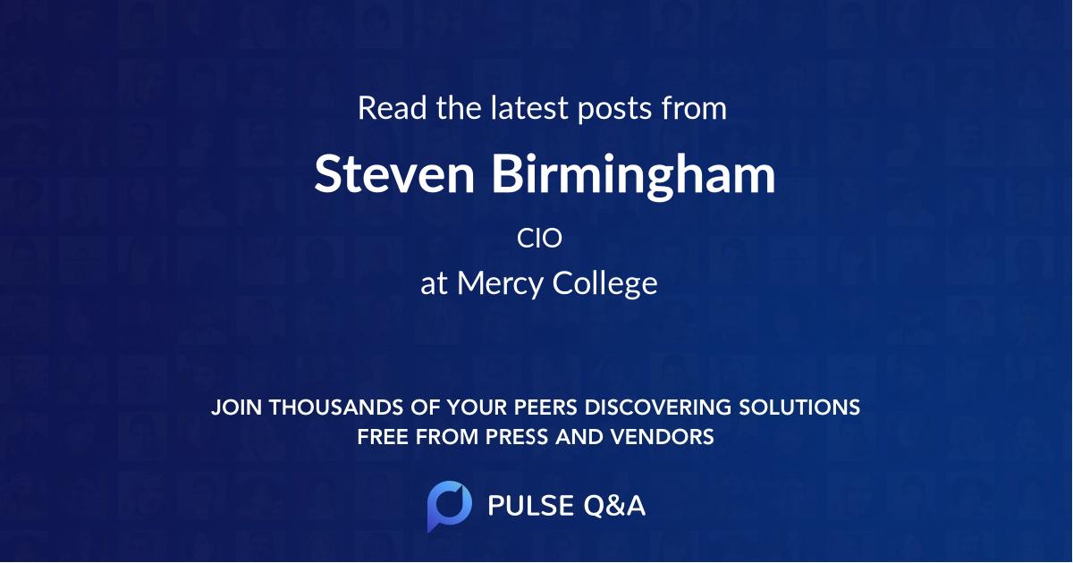 Steven Birmingham
