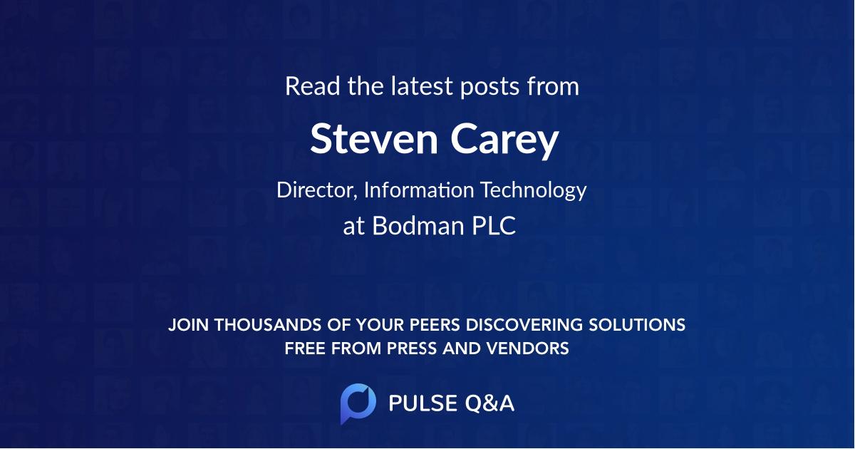 Steven Carey