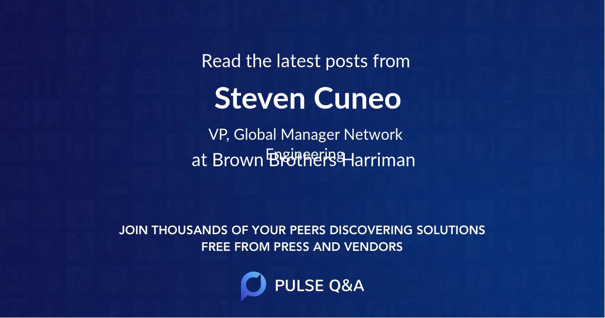 Steven Cuneo