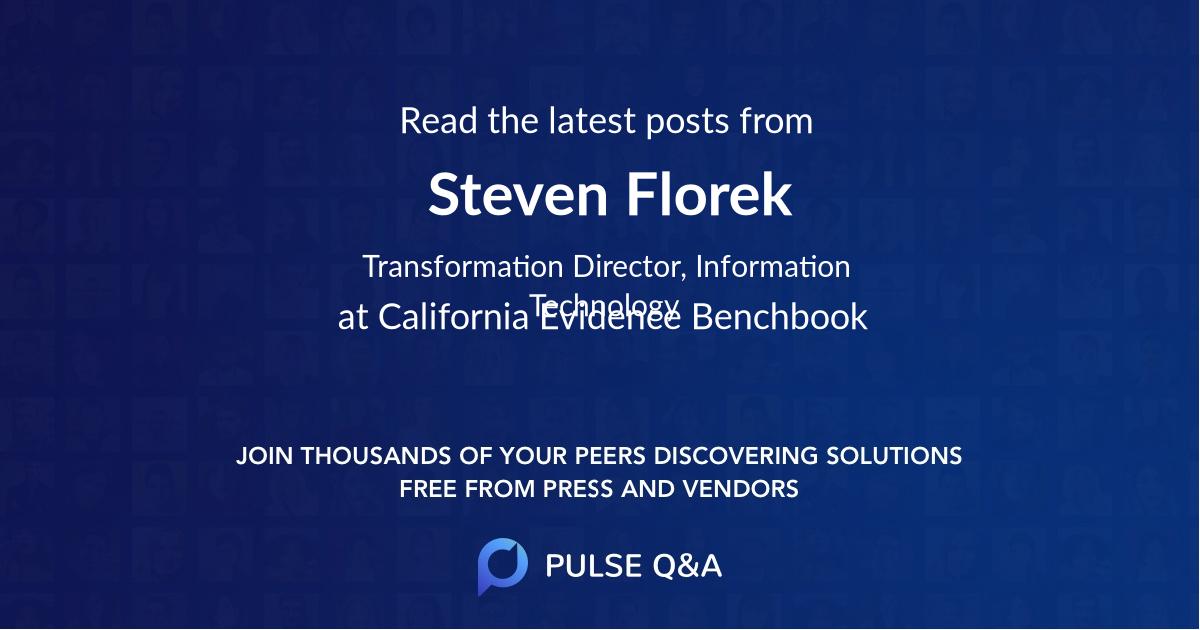 Steven Florek